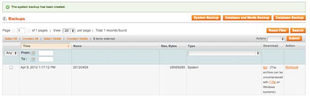 نظام النسخ الإحتياطي بماجنتو 1.7